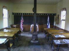 Inside of old school house ~ Keyser, West Virginia/