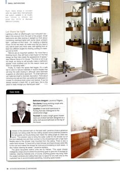 Storage system concealed within stylish Mirror Wall lightweight wall system  Alternative Bathroom Company from Kitchens Bedrooms   Bathrooms August 2013Alterntive Bathroom s  Saturn  textured countertop basin with the  . Essential Kitchen And Bathroom Business Magazine. Home Design Ideas