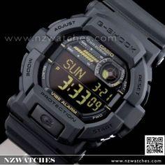 Casio G-Shock Vibration Alert 200M World time Sport Watch GD-350-1B a27ee733578c
