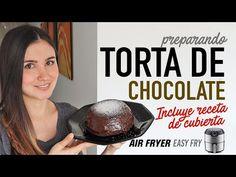 Cómo hacer TORTA DE CHOCOLATE en #AirFryer   Incluye receta para la cubierta - YouTube Liliana, Youtube, Food, Home, Chocolate Cobbler, Pastries Recipes, Deserts, How To Make, Essen