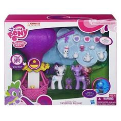 My Little Pony Friendship is Magic Twinkling Balloon Toy by Hasbro