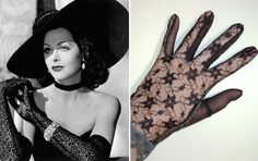 vintage gloves - Google Search