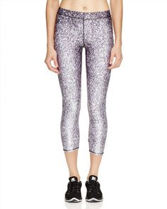 75.00$  Buy here - http://vibek.justgood.pw/vig/item.php?t=iv5luzh18373 - Terez Glitter Print Capri Leggings - 100% Exclusive
