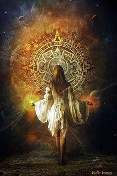Mandala Dark Fantasy, Foto Fantasy, 3d Fantasy, Fantasy Girl, Fantasy Books, Wiccan, Magick, Creation Art, Luis Royo