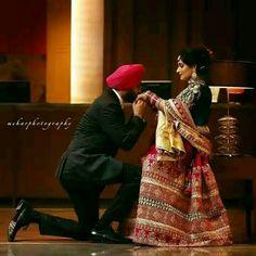 I wish 2 b wid u like this Pin Sikh Wedding, Punjabi Wedding, Punjabi Couple, Romantic Pictures, Sweet Couple, India Fashion, Couple Shoot, Couple Pictures, Indian Bridal