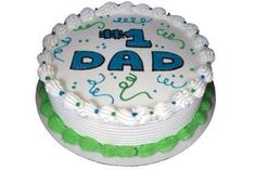 Father's Day Cupcakes, Cake Cookies, Cupcake Cakes, Cupcake Ideas, Fancy Cakes, Mini Cakes, Dq Ice Cream Cake, Dairy Queen Cake, Dad Cake