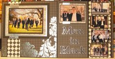 The Groom and Groomsmen, 2-Page Layout by DRStamper - Cards and Paper Crafts at Splitcoaststampers