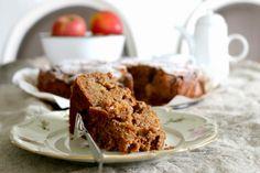Herbstlicher Apfelkuchen mit Kastanien - Ich backs mir im September #ichbacksmir #apfelkuchen #apfel #apple