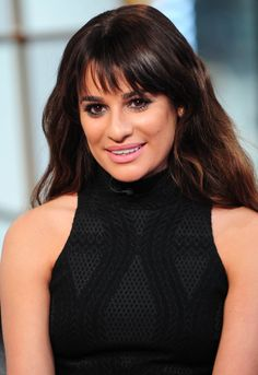 Lea Michele appears on VH1's Big Morning Buzz in New York, America - 5 March 2014