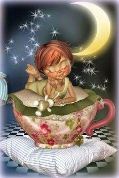Nighty Night, sweet dreams my friend x Cute Good Night, Good Night Moon, Good Morning Good Night, Nighty Night, Baby Fairy, Sun And Stars, Draw On Photos, Little Designs, Fairy Dolls