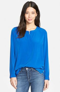 NYDJ Woven Tunic Top (Regular & Petite) available at #Nordstrom