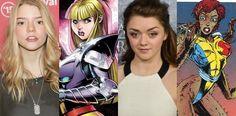 Novos Mutantes | Maisie Williams e Anya Taylor-Joy confirmadas no filme