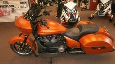 victory cross country tour nuclear sunset orange - Google Search