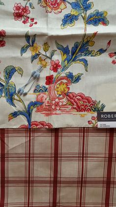 Robert Allen Wetherburns Colonial with Waverly Pantry Plaid