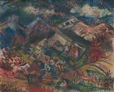 Arnold Peter Weisz-Kubínčan: Pastieri koní