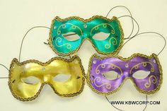 Description Includes: Party wear eye masks Size: Adult One Size Colors: Black, Hot Pink, Purple, Green, Gold Party Eyes, Mask Party, Hot Pink, Pink Purple, Mardi Gras, Masquerade, Party Wear, Eye Masks, Make It Yourself