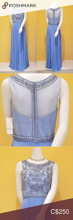 Prom Dress, Evening Gown, Bridesmaid Dress Bright Blue Brand new, great condition Sequined Mesh front and back Long floor length Bridesmaid Zipper on back hidden with beads and stones Edward Young Dresses Prom Bridesmaid Dresses, Prom Dresses, Summer Dresses, Formal Dresses, Prom Colors, Plus Fashion, Fashion Tips, Fashion Trends, Evening Gowns