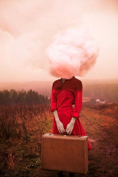 surreal self portraits: Alicia Savage