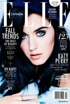 ☆ Katy Perry | Photography by Mariano Vivanco | For Elle Magazine Canada | October 2013 ☆ #Katy_Perry #Mariano_Vivanco #Elle #2013