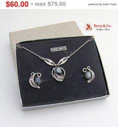 SaLe sALe Designer Evening Set Necklace Earrings by BerrysGems