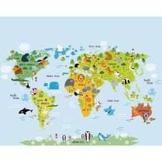 Popular The Whole Wide World Wall Mural large