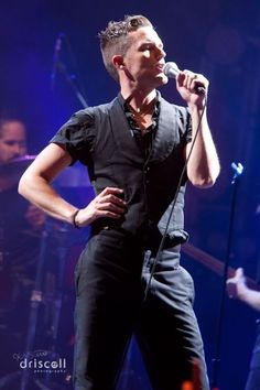 Brandon Flowers, hehe so much sass in this picture