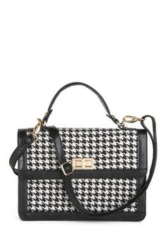Houndstooth or Dare Bag, #ModCloth