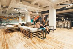 With start-up and freelance culture thriving, many independent professionals are ditching coffee shops and home offices for coworking spaces. See our picks for the most high-designed of the bunch