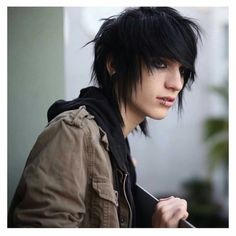 The emo hairstyle is the very popular hairstyle for both girls and guys also. Ultimately, the goal is to stand out in society and promote individualism. With this motive in mind, we have compiled the hottest emo long and short hairstyles for guys! Emo Hairstyles For Guys, Emo Haircuts, Scene Haircuts, Haircuts For Men, Emo Hair For Guys, Hairstyle Men, Men's Hairstyles, Formal Hairstyles, Wedding Hairstyles