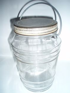 Vintage Pickle Barrel Jar