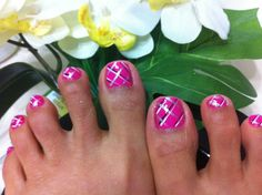 how to do plate on toe nails