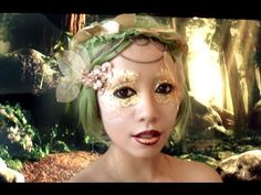 Forest Fairy The look is super easy and supplies are inexpensive! I've been working non stop trying to get as many tutorials done as I possibly can! Super last minute! I filmed 2 videos in a day and spent all day editing these videos! =( Please enjoy this tutorial, and Happy Halloween!