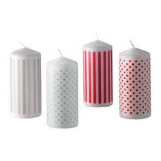 Ikea decorazioni Natale 2012 - Ikea Natale 2012, candele fantasia