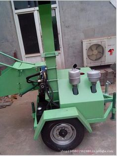 18HP diesel engine wood crusher,wood chipper,wood shredder,crushing machine