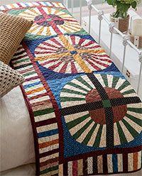 Make! Wheels of Chance Quilt Digital Pattern from ShopFonsandPorter.com