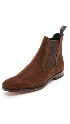 Loake 1880 Men's Mitchum Suede Chelsea Boots, Brown, 7.5 UK (8.5 D(M) US Men) - Brought to you by Avarsha.com