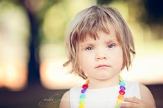 My baby girl loves loves loves her neclaces too! #nikistrbian