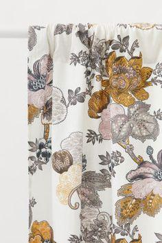 2-pack Slub-weave Curtains