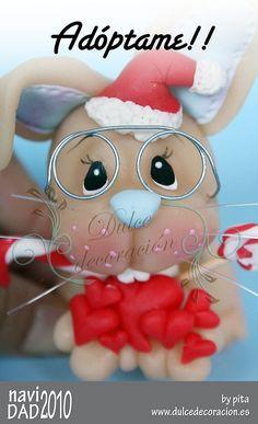 Pipo, un conejito navideño | Flickr: Intercambio de fotos