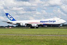 JA18KZ   Nippon Cargo Airlines   Boeing 747-8KZF