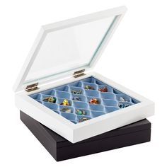 Simple, subtle and sophisticated, use our Waverly Jewelry Box by Umbra® on a dresser or vanity to keep rings, earrings and necklaces neat and tidy. | $24.99