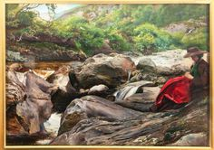 Pre-Raphaelite Love Triangle -- Lots of drama in the story behind this painting on James Gurney's blog entry about it.