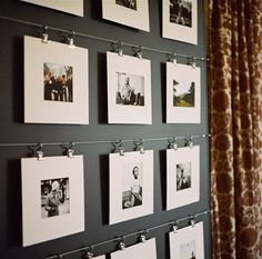 Gravity Home : (via Original Ways To Display Your Photograph And...