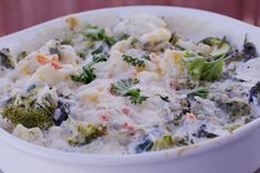 Zucchini Broccoli Cauliflower Cheesy Bake...Planning to try this within the next few weeks.