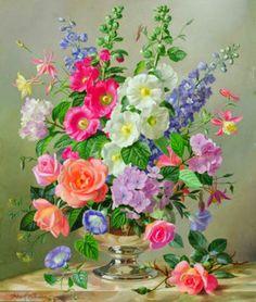 cuadros-al-oleo-de-flores.jpg (768×907)