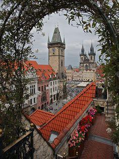 Stad van honderd torens Praag