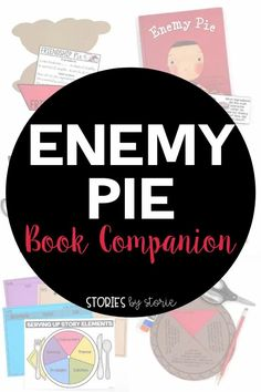 Enemy Pie is a great read aloud about friendship. Here are some activities you can use with this book. This book companion includes a friendship pie craft with a recipe card, comprehension questions, vocabulary activities, graphic organizers, and more! This resource is perfect for your back to school lesson plans, but this book can be shared any time of year. There are even options for online learning.