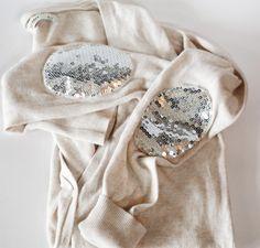 Add disco patches. | 10 DIY Ways To Refashion Your Wardrobe