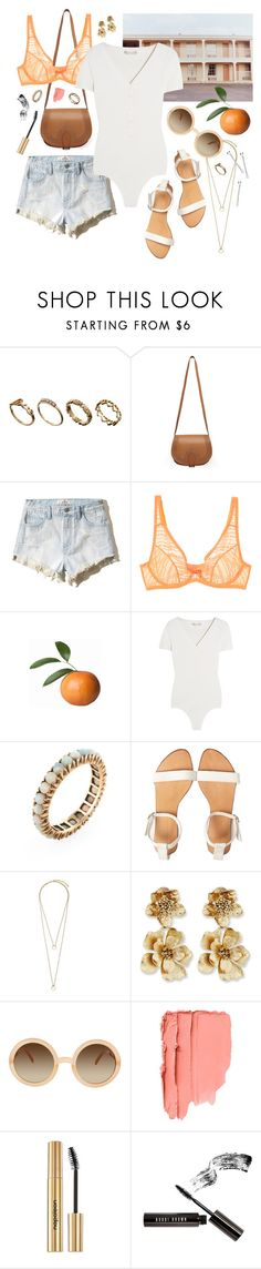 """pawn shop blues"" by doxophobia ❤ liked on Polyvore featuring ASOS, A.P.C., Hollister Co., L'Agent By Agent Provocateur, Michael Kors, Oscar de la Renta, Napoleon Perdis, Bobbi Brown Cosmetics and BOBBY"