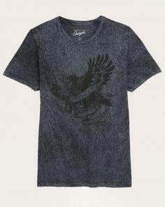 Tee-shirt straight Homme Chevignon noir Hiver 2015